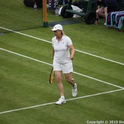 WIMBLEDON NO 1 COURT CELEBRATION, MARTINA NAVRATILOVA 223