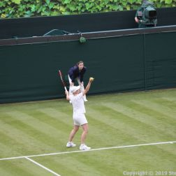 WIMBLEDON NO 1 COURT CELEBRATION, MARTINA NAVRATILOVA 240