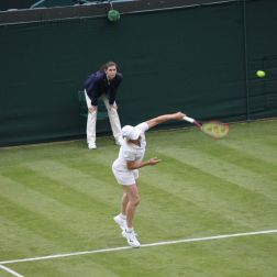 WIMBLEDON NO 1 COURT CELEBRATION, MARTINA NAVRATILOVA 242