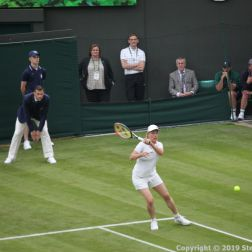 WIMBLEDON NO 1 COURT CELEBRATION, MARTINA NAVRATILOVA 252