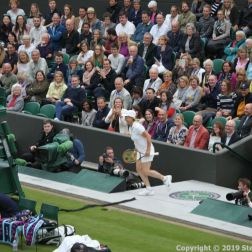 WIMBLEDON NO 1 COURT CELEBRATION, MARTINA NAVRATILOVA 256