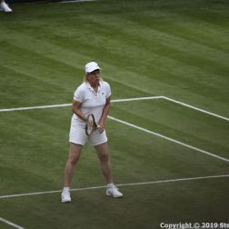 WIMBLEDON NO 1 COURT CELEBRATION, MARTINA NAVRATILOVA 257