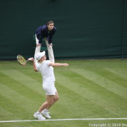 WIMBLEDON NO 1 COURT CELEBRATION, MARTINA NAVRATILOVA 266
