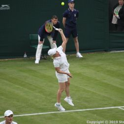 WIMBLEDON NO 1 COURT CELEBRATION, MARTINA NAVRATILOVA 267