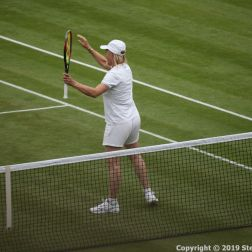 WIMBLEDON NO 1 COURT CELEBRATION, MARTINA NAVRATILOVA 276