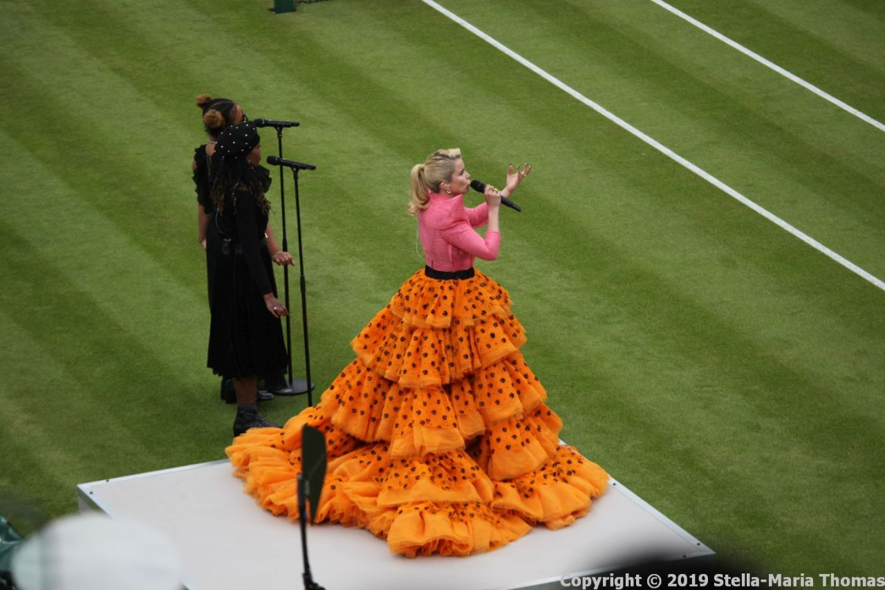 WIMBLEDON NO 1 COURT CELEBRATION, PALOMA FAITH 001