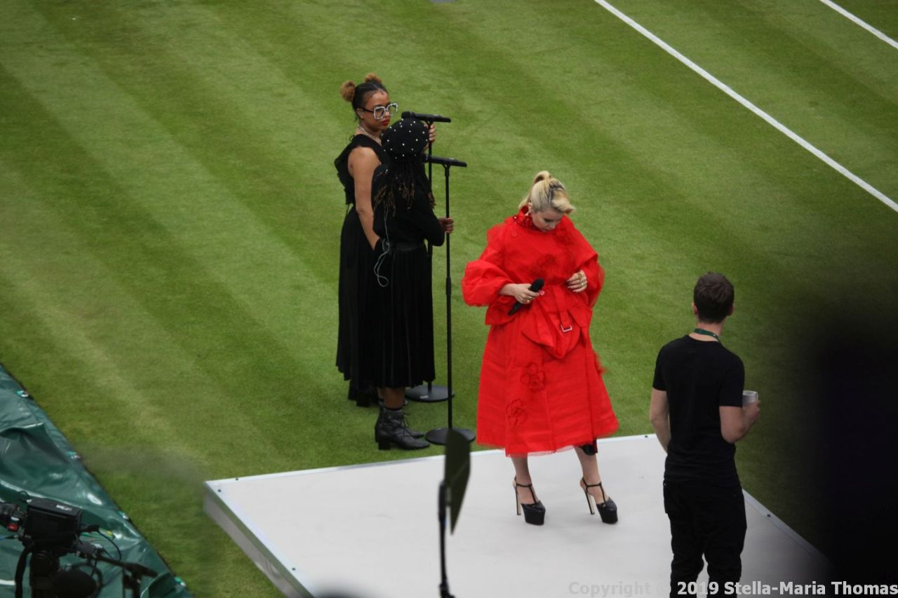 WIMBLEDON NO 1 COURT CELEBRATION, PALOMA FAITH 134
