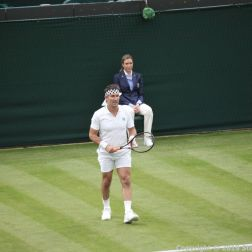 WIMBLEDON NO 1 COURT CELEBRATION, PAT CASH 030