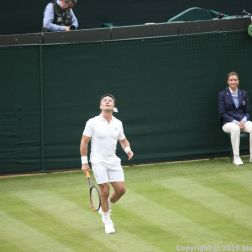 WIMBLEDON NO 1 COURT CELEBRATION, PAT CASH 036