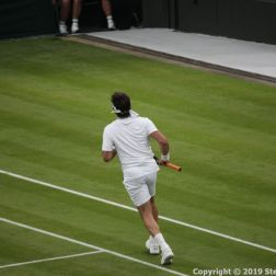 WIMBLEDON NO 1 COURT CELEBRATION, PAT CASH 042