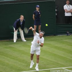 WIMBLEDON NO 1 COURT CELEBRATION, PAT CASH 071