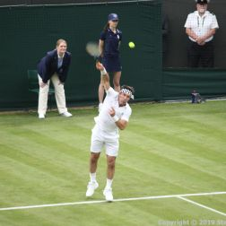 WIMBLEDON NO 1 COURT CELEBRATION, PAT CASH 095