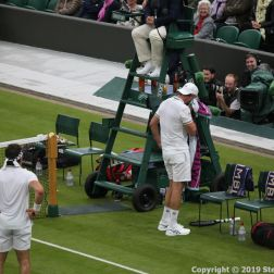 WIMBLEDON NO 1 COURT CELEBRATION, PAT CASH, GORAN IVANISEVIC 118