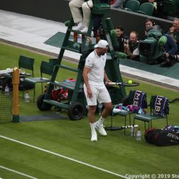 WIMBLEDON NO 1 COURT CELEBRATION, PAT CASH, GORAN IVANISEVIC 119