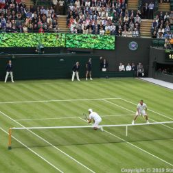 WIMBLEDON NO 1 COURT CELEBRATION, PAT CASH, GORAN IVANISEVIC, LLEYTON HEWITT 101