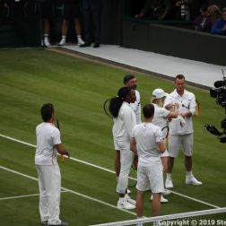 WIMBLEDON NO 1 COURT CELEBRATION, PAT CASH, JAMIE MURRAY, VENUS WILLIAMS, GORAN IVANISEVIC, MARTINA NAVRATILOVA, LLEYTON HEWITT 281