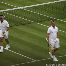 WIMBLEDON NO 1 COURT CELEBRATION, PAT CASH, LLEYTON HEWITT 048