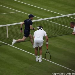 WIMBLEDON NO 1 COURT CELEBRATION, PAT CASH, LLEYTON HEWITT 051