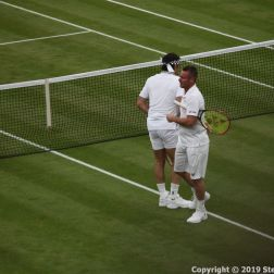 WIMBLEDON NO 1 COURT CELEBRATION, PAT CASH, LLEYTON HEWITT 052
