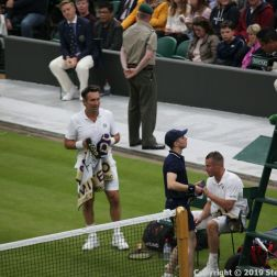 WIMBLEDON NO 1 COURT CELEBRATION, PAT CASH, LLEYTON HEWITT 089