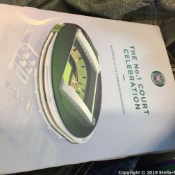 WIMBLEDON NO 1 COURT CELEBRATION, PROGRAMME 284