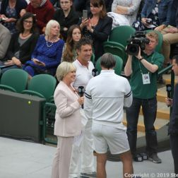 WIMBLEDON NO 1 COURT CELEBRATION, SUE BARKER, PAT CASH, GORAN IVANISEVIC 203