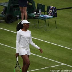 WIMBLEDON NO 1 COURT CELEBRATION, VENUS WILLIAMS 140