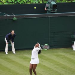 WIMBLEDON NO 1 COURT CELEBRATION, VENUS WILLIAMS 147