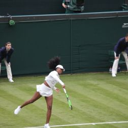 WIMBLEDON NO 1 COURT CELEBRATION, VENUS WILLIAMS 148