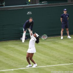 WIMBLEDON NO 1 COURT CELEBRATION, VENUS WILLIAMS 149