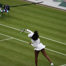 WIMBLEDON NO 1 COURT CELEBRATION, VENUS WILLIAMS 152