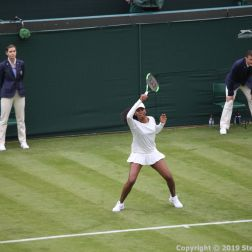 WIMBLEDON NO 1 COURT CELEBRATION, VENUS WILLIAMS 160