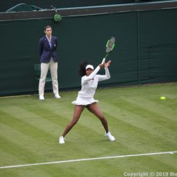 WIMBLEDON NO 1 COURT CELEBRATION, VENUS WILLIAMS 161