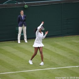 WIMBLEDON NO 1 COURT CELEBRATION, VENUS WILLIAMS 162