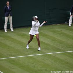 WIMBLEDON NO 1 COURT CELEBRATION, VENUS WILLIAMS 164