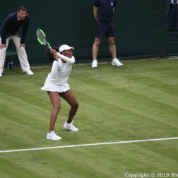 WIMBLEDON NO 1 COURT CELEBRATION, VENUS WILLIAMS 175