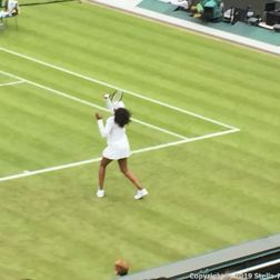 WIMBLEDON NO 1 COURT CELEBRATION, VENUS WILLIAMS 181