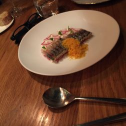 MONT BAR, MACKEREL, HERB GAZPACHUELO AND BOTARGO 019