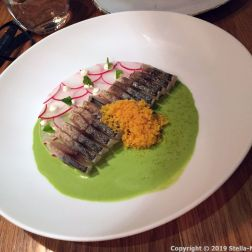 MONT BAR, MACKEREL, HERB GAZPACHUELO AND BOTARGO 020