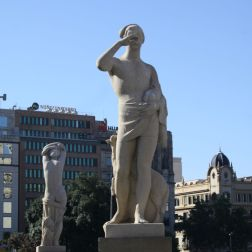 PLACA DE CATALUNYA, BARCELONA 005