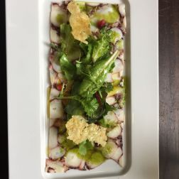 DOP RESTAURANTE, OCTOPUS CARPACCIO WITH POMEGRANATE 008