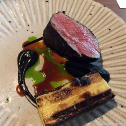 SAUCE SUPPER CLUB, CUMBRIAN LAMB, BLACK GARLIC, COURGETTE 012