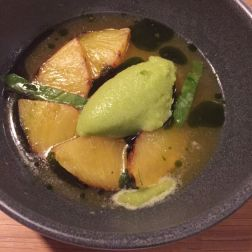 SAUCE SUPPER CLUB, PINEAPPLE, CITRUS, BASIL 016
