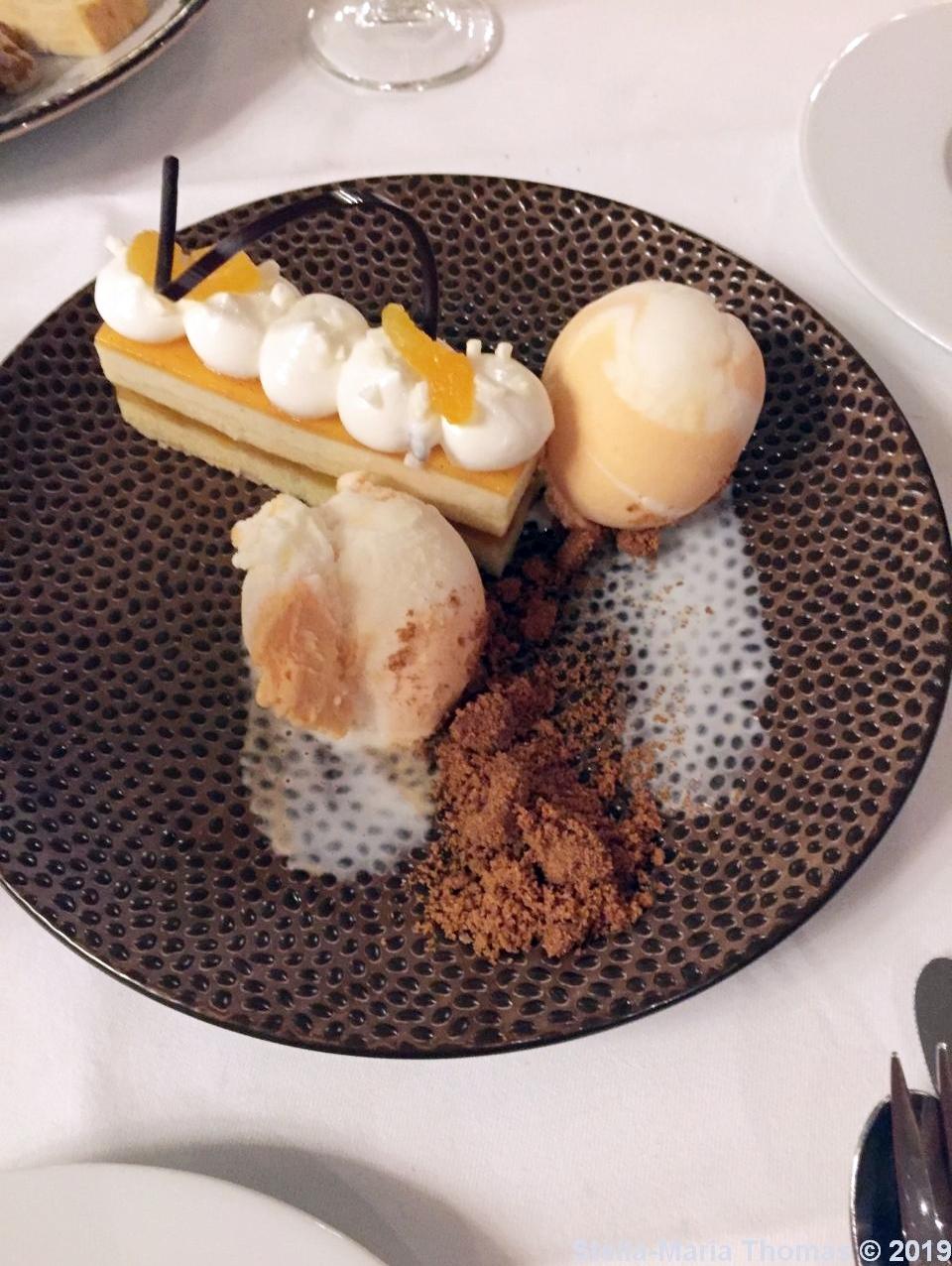 HOTEL KASTEEL BLOEMENDAL. WHITE CHOCOLATE AND APRICOT TART, STRUCTURES OF YOGURT 016