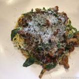 LORNE, HAND ROLLED LINGUINE, HEN OF THE WOODS, GIROLLES PERSILLADE, PARMESAN 008