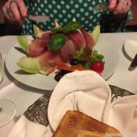 SCHLOSSMUEHLE HOTEL, BLACK FOREST HAM AND MELON 004