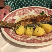 SCHLOSSMUEHLE HOTEL, LOCAL TROUT IN ALMOND BUTTER 007