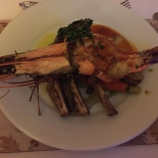 WESTON SUPPER CLUB, ALDO ZILLI, 'SURF AND TURF' LAMB AND LANGOUSTINE 013