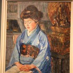 HAMBURG KUNSTHALLE, ALMA DEL BANCO, JAPANESE WOMAN 065
