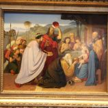 HAMBURG KUNSTHALLE, FRIEDRICH OVERBECK, THE ADORATION OF THE MAGI 087